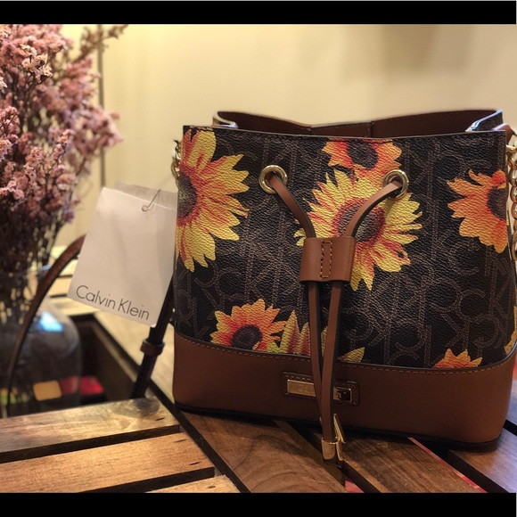 Calvin Klein Bags Brand New Sunflower Bag Poshmark